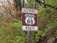 USA - Gray Summit MO - Route 66 Sign (13 Apr 2009)